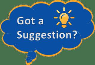 got a suggestion?