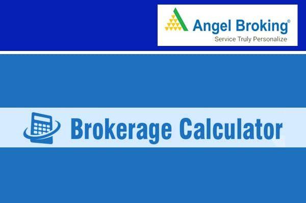 Angel Broking Brokerage Calculator Image